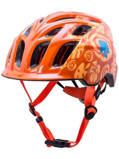 Kali Chakra casco per bici Bambino arancione